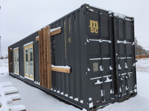 WHY SHIPPING CONTAINER HOMES?